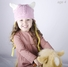 Large Beanie hat - Pink Viking Beanie for kids and young adult. Soft, stretchable viking hat size is 18 inches.
