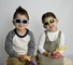Kids' UV400 Polarized Sunglasses for ages 3 -11 years - Green