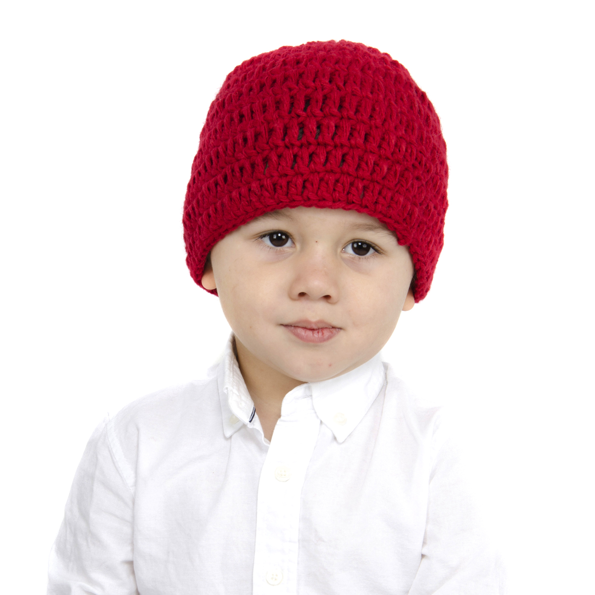 8e2a9db5d9b  SOLD OUT Red Beanie with Beard - Boy Girl Toddler Kid (Large)