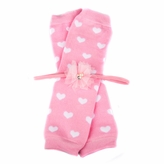 Arabelle's Pink Heart Baby Girl Leggings and Headband Gift Set