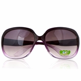 Adele's Child or Petite Adult  Purple Gradient Fashion Sunglasses