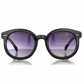 Hana's Vintage Style Black Anti-UV Sunglasses for Kids