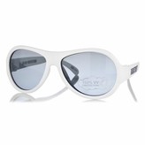 UV400 White Babiators Sunglasses for Baby Boys (3-7yrs)