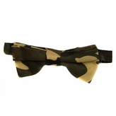 Little Boy Adjustable Pre-tied Camoflauge Bow Tie