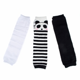 Cody's Baby Leggings Set of 3 - Black, White, Panda Stripes