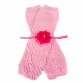 Gia's Light Pink Ruffled Baby Girl Leggings and Headband Gift Set