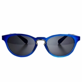 Polarized Blue Retro Cat Eye Toddler Sunglasses