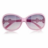 Little Girl's Fashion Sunglasses with Bow - Pink