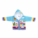 Baby Hoodie Sweater Handmade in Central America - Turquoise