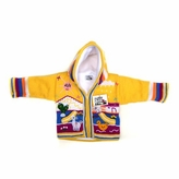 Baby Hoodie Sweater Handmade in Central America - Yellow