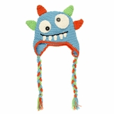 *SOLD OUT*Blue Monster Beanie - Baby Girl Boy Toddler (Small)