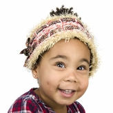 Ivy's Fuzzy Winter Baby Girl Headband 3-12 Months (39cm)