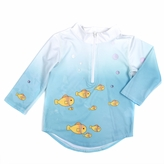 Toddler Rashguard Protective Sun and Swim Top - Under The Sea UPF 50+ (2T)