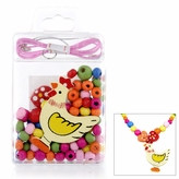 Little Girl DIY Necklace Craft Kit - Chicken