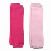 *SOLD OUT*Baby Leg Warmers Solid Colors Set of 2 - Light Pink and Hot Pink
