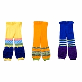 Kids Colorful Legging Trousers 3 Piece Set