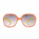 Adele's Toddler Girl Pink/Yellow Square Frame Fashion UV400 Sunglasses