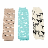 *SOLD OUT*Baby Leg Warmers Animals Set of 3 - Sheep, Dog, Birds