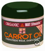 Organic Root Stimulator Carrot Oil 8oz