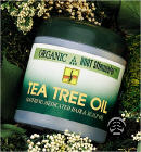 Organic Root Stimulator Tea Tree Oil Hair  &Scalp 5.5oz