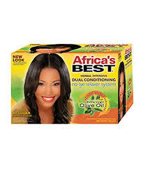 Africa's Best No Lye Relaxer Kit