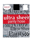 Ultra Sheer Pantyhose Queen Size (ExtraWide)