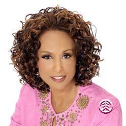 Beverly Johnson Vivica Fox  Half Wig HW370 (Oprah Half-Wig)