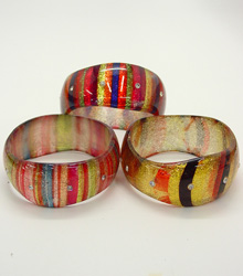 Striped Color Bangle