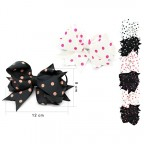 Children's Hair Bow Polka Dot