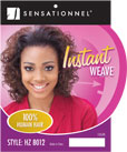 Sensationnel Instant Weave - 100% Human Hair Half Wig