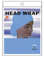 BT Luxury Head Wrap Sky Blue