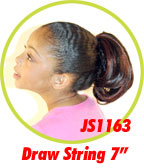 Beauti Collection Synthetic Kids Drawstring Ponytail JS1163