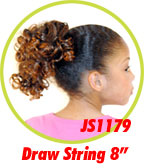 Beauti Collection Synthetic Kids Drawstring Ponytail JS1179