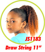 Beauti Collection Synthetic Kids Drawstring Ponytail JS1183