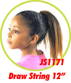 Beauti Collection Synthetic Kids Drawstring Ponytail JS1171