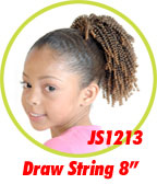 Beauti Collection Synthetic Kids Drawstring Ponytail JS1213