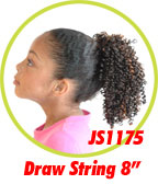 Beauti Collection Synthetic Kids Drawstring Ponytail JS1175