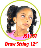 Beauti Collection Synthetic Kids Drawstring Ponytail JS1181