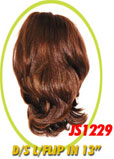 "Beauti Collection Synthetic Drawstring Ponytail Long Flip In 13"" JS1229"