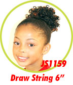 Beauti Collection Synthetic Kids Drawstring Ponytail JS1159