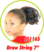 Beauti Collection Synthetic Kids Drawstring Ponytail JS1165