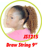 Beauti Collection Synthetic Kids Drawstring Ponytail JS1215