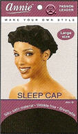 Annie Sleep Cap Large Black