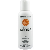Adore Semi-Permanent Rinses  #30 GINGER 4oz