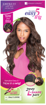 Sensationnel Kanubia Easy 5 Lace Front Edge L Parting Wig