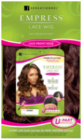 Sensationnel Empress Lace Front Edge U-PART Wig