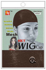 BT Mesh Net Wig Cap Dark Brown