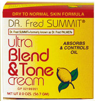 Dr. Fred Summit Ultra Blend Tone & Cream Dry To Normal 2oz