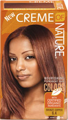 Creme of Nature Women's Gel Color Red Copper 6.4