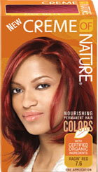 Creme of Nature Women's Gel Color Ragin Red 7.60